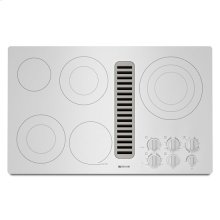 "Jenn-Air® Electric Radiant Downdraft Cooktop, 36"" - White"