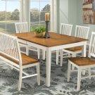 Dining - Arlington Slat Back Bench Product Image