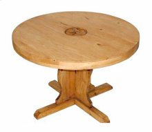 """60"""" Rd Table W/star On Top"""