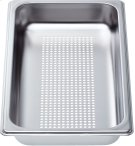 """Perforated cooking pan - half size, 1 5/8"""" deep Product Image"""