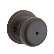 Juno Bed/Bath Knob - Venetian Bronze