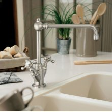 One-hole Wash Sink Mixer With Cross Handles