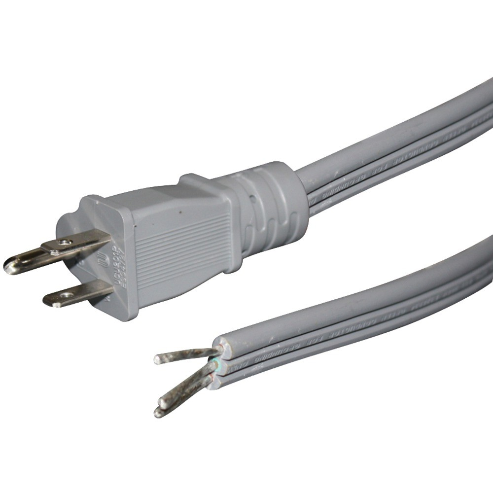 Flat Appliance Power Cord, 15 Amps (6ft)