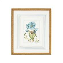 Bl Floral W/ribbon-a
