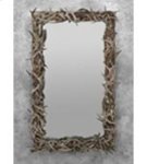 White Tail Square Mirror Product Image