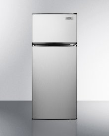 ADA Compliant Frost-free Refrigerator-freezer In Stainless Steel With Icemaker