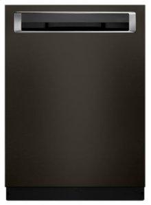 46 DBA Dishwasher with Third Level Rack and PrintShield™ Finish, Pocket Handle - Black Stainless