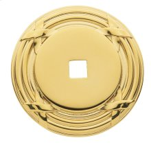 Polished Brass Round Edinburgh Back Plate