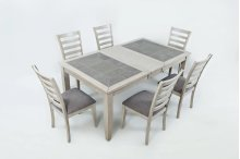 Sarasota Springs Ext Dining Table With Six Chairs