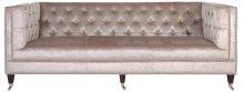 Miller Tufted Velvet Sofa - Pearl
