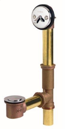 Chrome Gerber® Classics Brass Pop-up Drain With Pre-set Adjustable Linkage