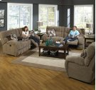 """Power """"Lay Flat"""" Recliner - Wine Product Image"""