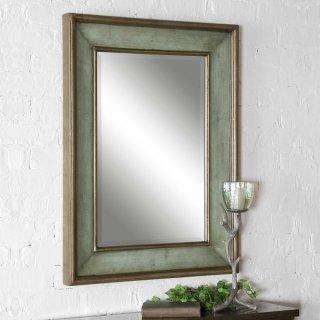 Ogden Blue Vanity Mirror