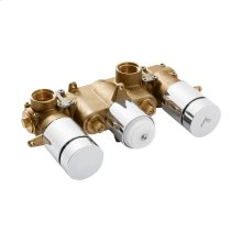 Dial 2001 Horizontal Thermostatic Rough (2 Outlets)