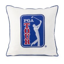 PGA TOUR Clubhouse Logo Embroidery Pillow