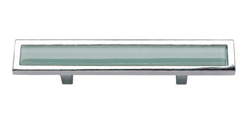 Spa Green Pull 3 Inch (c-c) - Polished Chrome