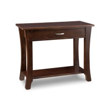 Yorkshire Sofa Table with Shelf and 1 Drawer