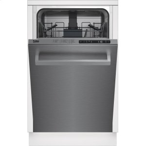 "Beko18"" Top Control, Front Handle Dishwasher, 5 Programs, 48 dBA"