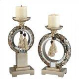 Farrah Candle Holder Set (2/box) Product Image