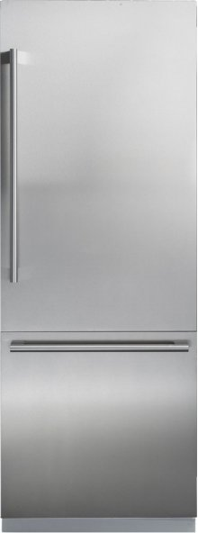 30 Inch Fully Integrated Built-In Bottom-Freezer Refrigerator