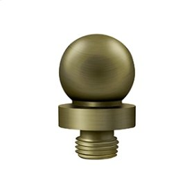"""Ball Tip for 6"""" x 6"""" Hinges - Antique Brass"""