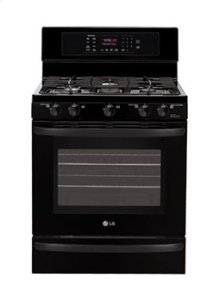 5.4 cu. ft. Capacity Gas Single Oven Range with EvenJet Convection System
