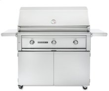 """36"""" Sedona by LynxFreestanding Grill - 3 SS Tube Burners with Rotisserie LP - Ships Assembled"""