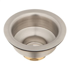 Stainless Steel - PVD Large Basket Strainer Body