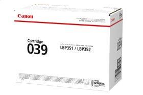 Canon Cartridge 039 Black GENUINE Toner for imageCLASS Laser Printers
