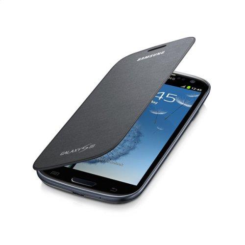 Galaxy S® III Flip Cover, Titanium Gray