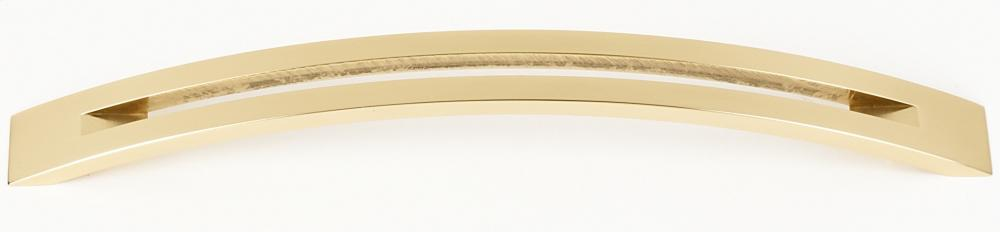 Slit Top Pull A422-8 - Polished Brass