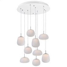 Puffs 9-Light LED Pendant