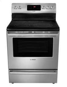 "30"" DLX Electric Freestanding Range 500 Series - Stainless Steel HES5L53U"