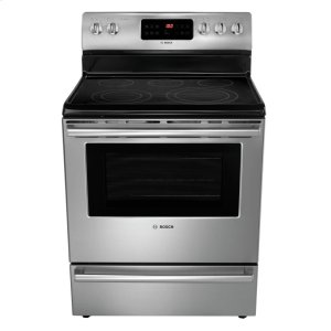 "Bosch30"" DLX Electric Freestanding Range 500 Series - Stainless Steel HES5L53U"