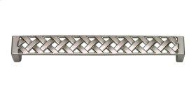 Lattice Pull 6 5/16 Inch (c-c) - Brushed Nickel