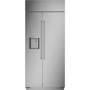 "MonogramMonogram 36"" Smart Built-In Side-by-Side Refrigerator with Dispenser - AVAILABLE EARLY 2020"