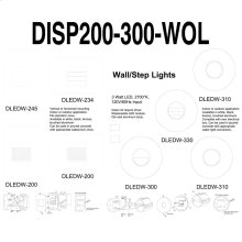 Display-dledw200/300 Series W/o Lights
