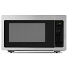 Amana® 2.2 Cu. Ft. Countertop Microwave with Add :30 Seconds Option - Black-on-Stainless