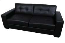 Harper Black Leather-Look Sofa, Loveseat & Chair, SWL9071