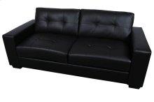 Harper Black Leather-Look Sofa, Loveseat & Chair, SWL9071