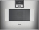 400 Series Speed Microwave Oven Stainless Steel-backed Full Glass Door Left-hinged Controls On Top