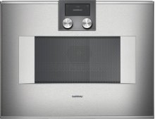 400 Series Speed Microwave Oven Stainless Steel-backed Full Glass Door Right-hinged Controls On Top