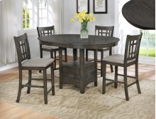 CROWNMARK 2795 Hartwell 4-piece Counter Height Dinette - Table With 4 Chairs