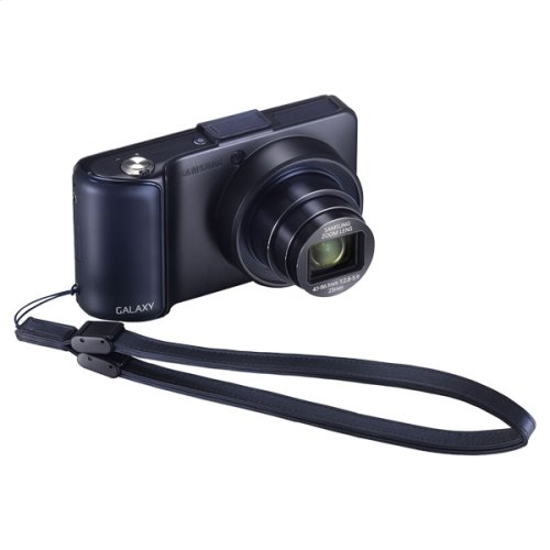 Galaxy Camera Flip Cover (Black)