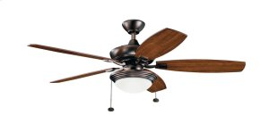 "Canfield Select LED 52"" Fan Oil Brushed Bronze"