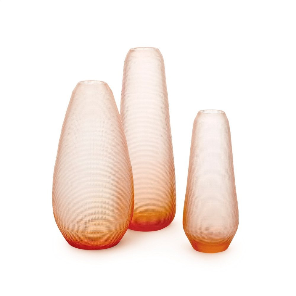 Ambroze Set of 3 Vases, Blush Pink