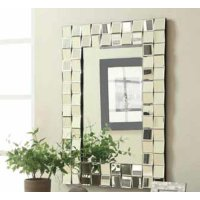 Contemporary Rectangle Mirror Product Image