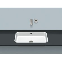 Flush built-in basin