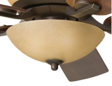 Olympia 3 Light Bowl Light Kit Sunset Marble Glass Olde Bronze®