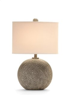 Trixie Silver Contemporary Table Lamp